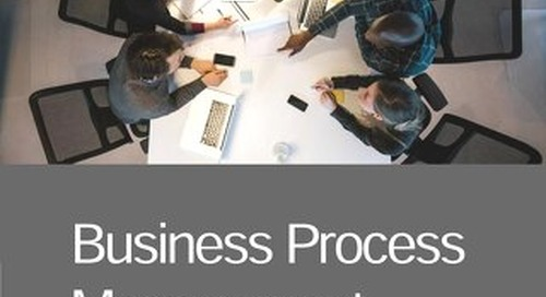 Business Process Management: An Overview