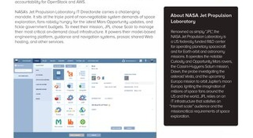 Scalr - NASA Case Study