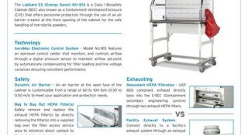 [Flyer] LabGard ES NU-813 Class I Biosafety Cabinet for Pharmacy