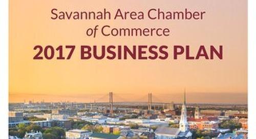 2017 Savannah Chamber Business Plan
