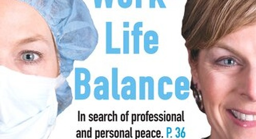 Work-Life Balance - January 2017 - Subscribe to Outpatient Surgery Magazine