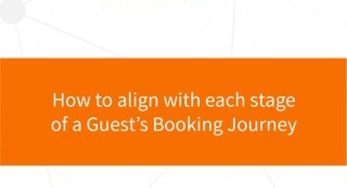 How to align with each stage of a Guest's Booking Journey