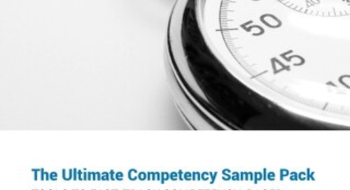 Competency Sample Pack