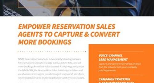 NAVIS Reservation Sales Suite Brochure
