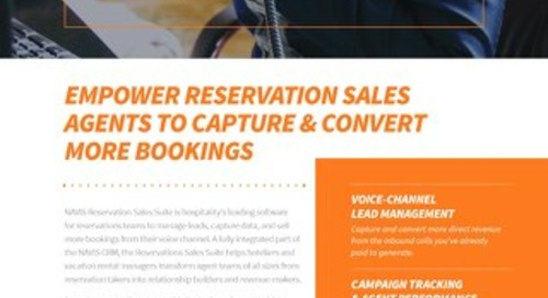 NAVIS Reservation Sales Suite Brochure