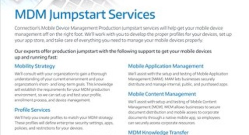 MDM Jumpstart Services