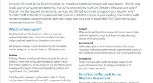 Microsoft Active Directory Assessment