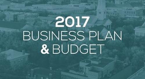 Visit Savannah Business Plan 2017