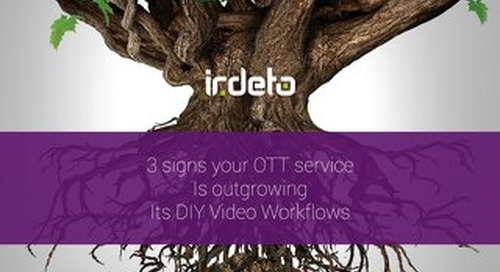 E-book: 3 signs your OTT service is outgrowing its DIY video workflow
