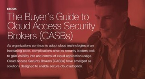 Buyer's Guide to Cloud Access Security Brokers