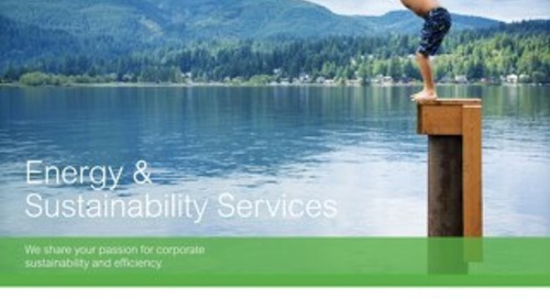 Energy & Sustainability Services Overview