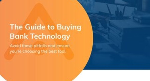 Guide To Buying Bank Technology
