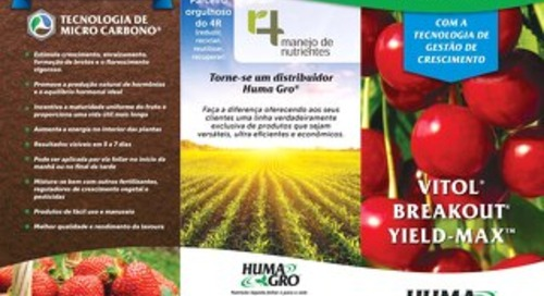 Plant Growth Management Brochure (HG) Portuguese