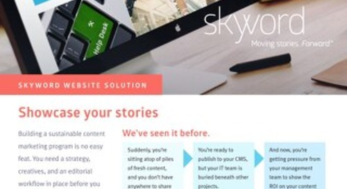 Skyword Website Solution