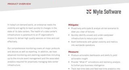 Nlyte Energy Optimizer