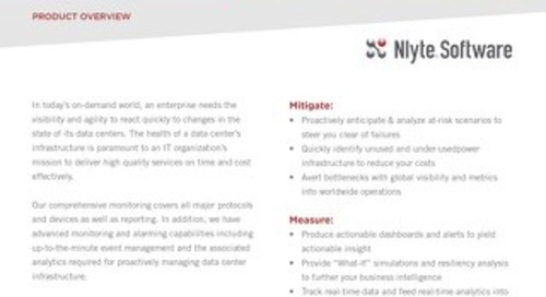 Nlyte Energy Optimizer (NEO) Product Overview