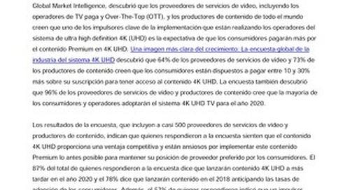 Encuesta de Irdeto: Los proveedores globales de servicios de vídeo y los productores de contenido creen que los consumidores pagarán más por