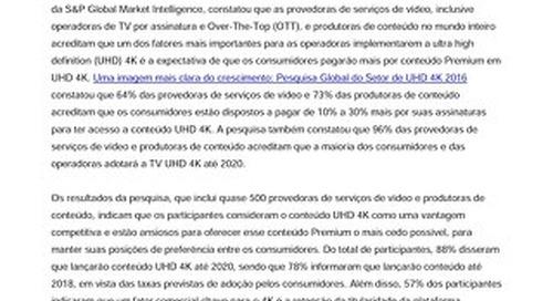 Pesquisa da Irdeto: Provedoras de serviços de vídeo e produtoras de conteúdo no mundo inteiro acreditam que os consumidores pagarão mais por