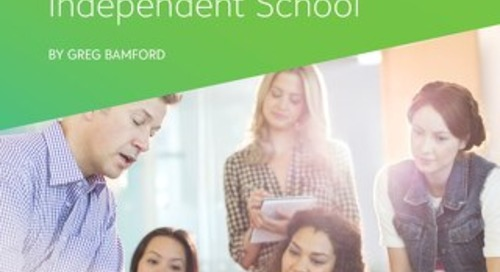 Small, Fast, and Warm-Blooded: Leadership in the Small Independent School