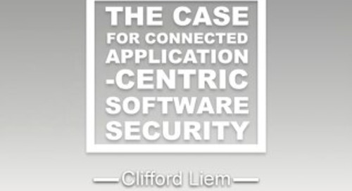 White paper (full version): The case for connected application-centric software security