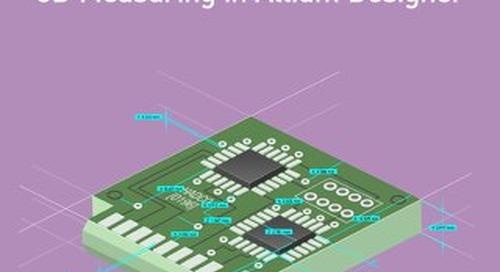 3D Measuring in Altium Designer