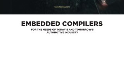 Embedded Compilers For The Needs Of Today's And Tomorrow's Automotive Industry