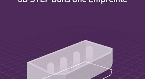 Embedding 3D Step Model in a Footprint FR