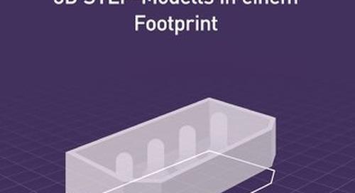 Verwendung eines 3D STEP-Modells in Einem Footprint