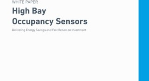 High Bay Occupancy Sensors Whitepaper