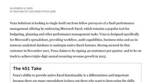 Vena Courts Excel Devotees