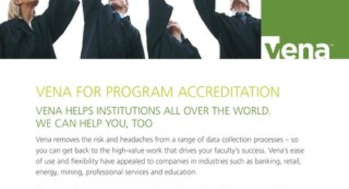 Vena Program Accreditation [RDS] [IES]