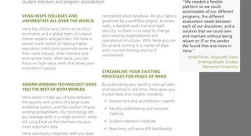 Vena Higher Ed Platform [RDS] [IES]