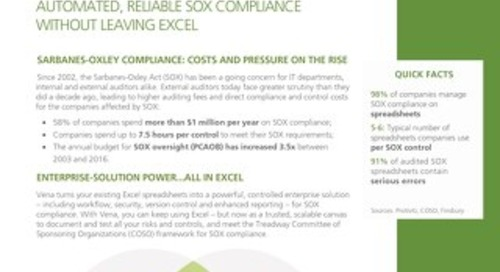 Vena Automated Reliable SOX Compliance [RDS] [FRE]
