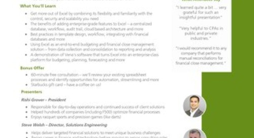 Weekly Budgeting Webinars [RDS] [FGI]