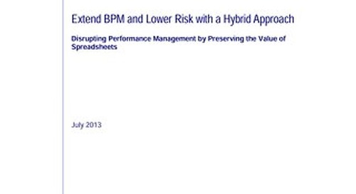 BPM and Lower Risk with Hybird Approach
