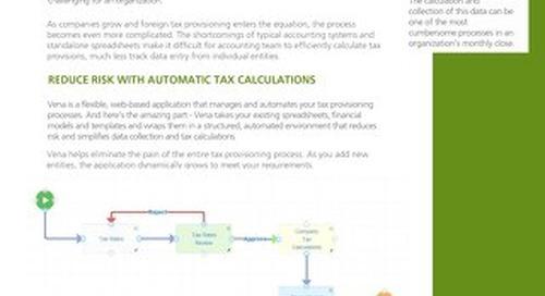 Vena-Tax-Provisioning [RDS] [FIN]