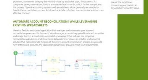 Vena Account Reconciliations