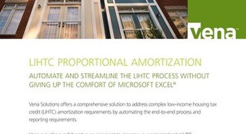 Vena LIHTC Proportional Amortization [RDS] [FIN]