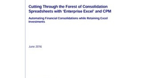 Cutting Through the Forest of Consolidation Spreadsheets with Enterprise Excel and CPM