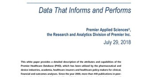 Premier Healthcare Database White Paper