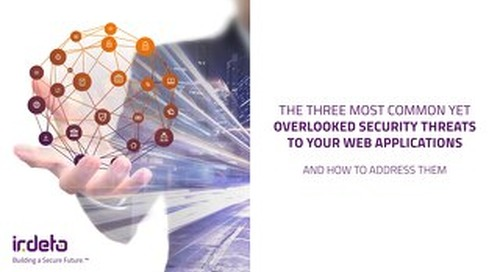 E-book: The three most common security threats to your web applications