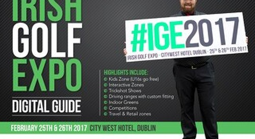 Irish Golf Expo 2017 Digital Guide