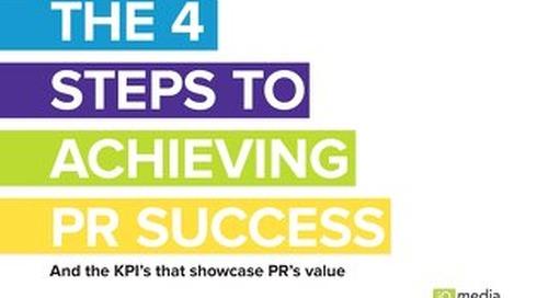 The 4 Steps to Achieving PR Success