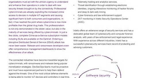 Datasheet: Cyber Services for Connected Industries