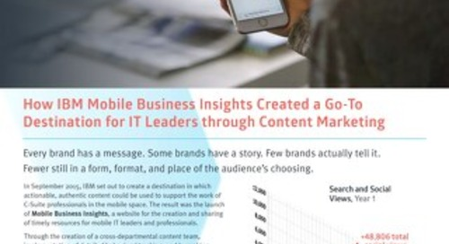 IBM Mobile - Skyword Case Study