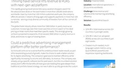 QuanticMind Customer Success Story - International Travel Leader