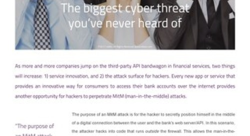E-book: The biggest cyber threat you've never heard of