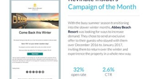 February Campaign of the Month: Abbey Beach Resort