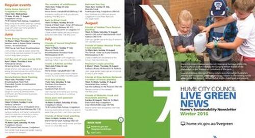 Live Green News - Winter 2016