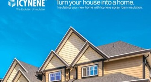 Icynene in New Homes